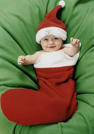 Lovely Baby Pic Cute Christmas Wallpaper